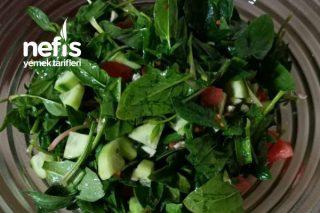 Ispanak Salatası Düşük Kalorili Tarifi