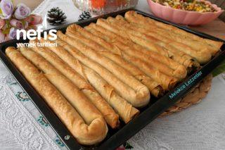 Ispanaklı Kıymalı Çıtır Kol Böreği Tarifi