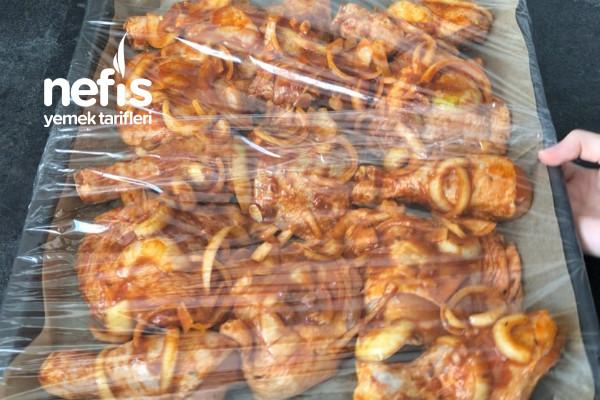 Izgara Tadında Fırında Tavuk İncik / Baget Menü – Videolu