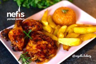 Izgara Tadında Fırında Tavuk İncik / Baget Menü  (Videolu) Tarifi