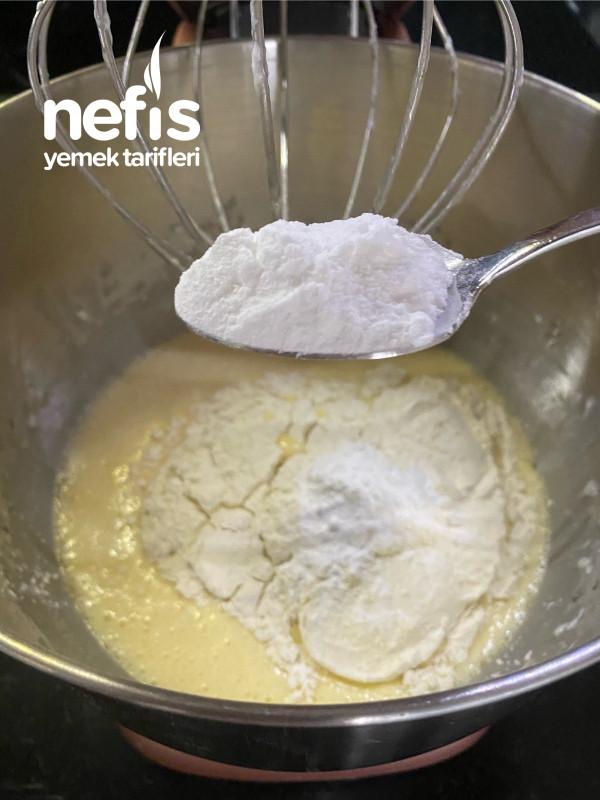 Karamel Soslu Elmalı Kek
