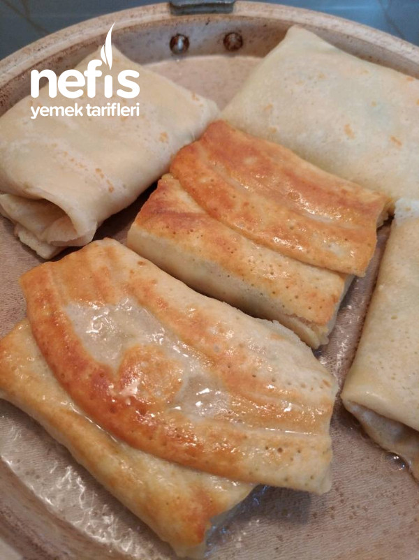 Krep Börek (Sahurda En Kolay Yapılabilecek Börek)