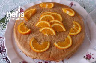 Portakallı Diyet Kek Tarifi