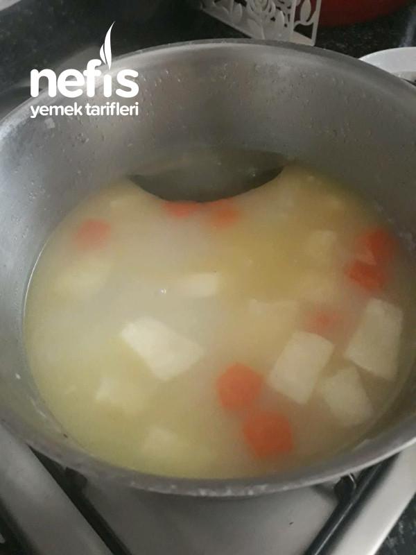 Sütlü Kereviz Çorbası