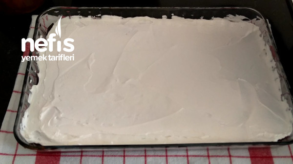 Yaş Pasta Lezzetinde Borcam Pasta (videolu tarif)