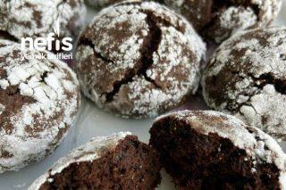 Çikolatalı Çatlak Kurabiye (Bildiğiniz Çatlak Kurabiyelerden Çok Farklı Çok Basit) Tarifi