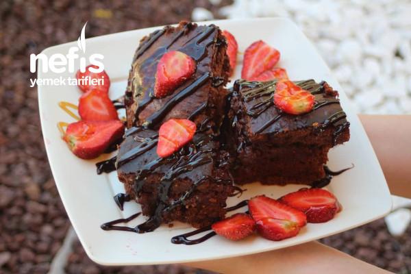 Glutensiz Cevizli Brownie