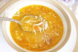 Havuçlu Ve Tel Şehriyeli Tavuk Çorbası Tarifi