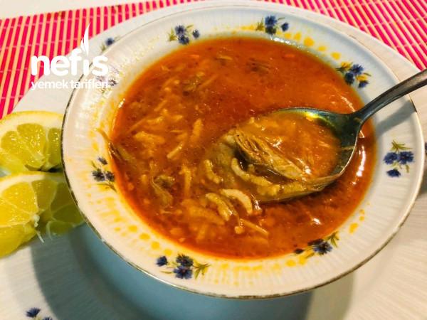 İftara Beyran çorbası