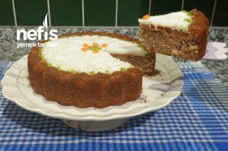Kremalı Havuçlu Kek (Videolu) Tarifi