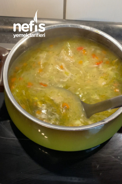 Sebzeli Tavuk Çorbası