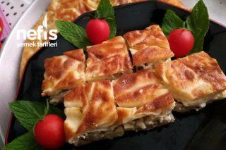 Tereyağlı Su Böreği (El Açması Peynirli Lorlu Ve Maydanozlu) Tarifi