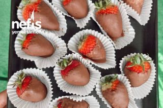 Çikolata Kaplı Çilek Tarifi