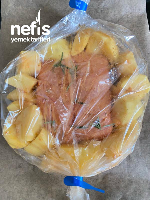 Fırında Lokum Gibi Pişmiş Somon Balığı(inanılmaz Kolay)