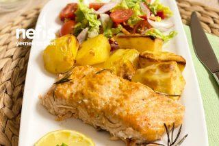 Fırında Lokum Gibi Pişmiş Somon Balığı (İnanılmaz Kolay) Tarifi