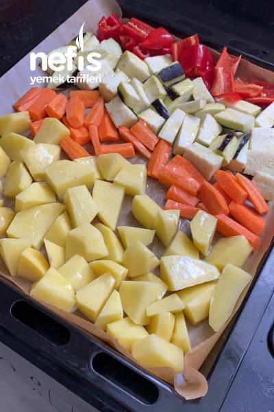 Fırında Sebzeli Güveç(kızartmadan)