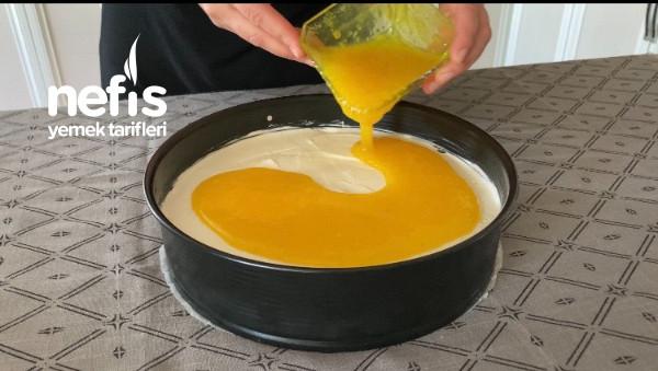 Fırınsız Limonlu Cheesecake Tarifi (Videolu)