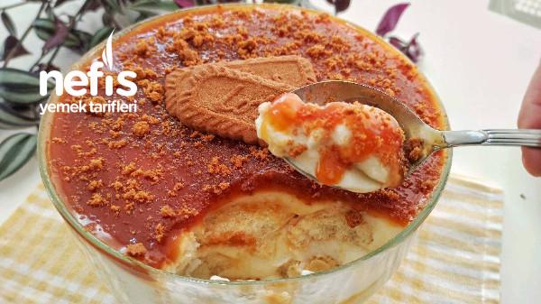 Karamelli Kaşık Pastası