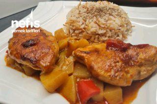 Kremalı Patatesli Tavuk Göğsü Tarifi