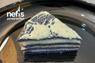 Mor Havuçlu Krep Pasta Tarifi