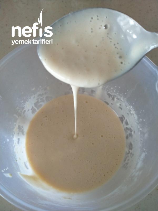 Pancake ( 1 Yumurtadan ) 2 Kişilik Tarifler