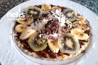 Tatlı Krizine Birebir 10 Dakikada Tost Makinasında Waffle Tarifi