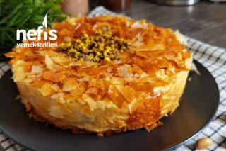 Baklava Cheesecake (İki Güzelliğin Birleştiği Müthiş Lezzet) Tarifi