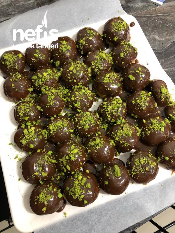 Çikolatalı Fıstık Topları