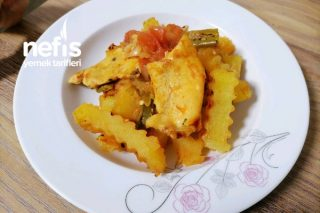 Fırında Sebzeli Tavuk (Favoriniz Olacak) Tarifi