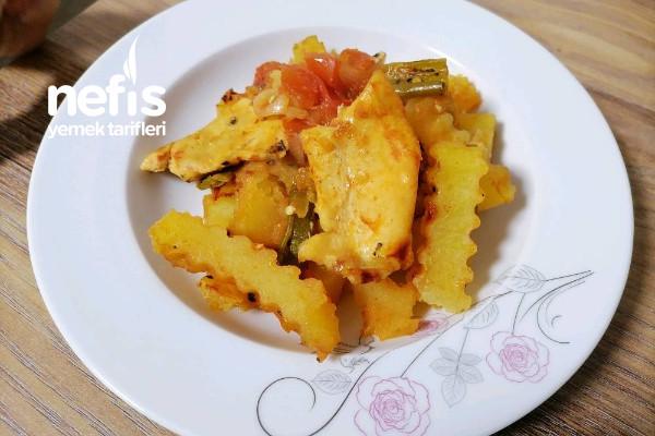 Fırında Sebzeli Tavuk (Favoriniz Olacak)