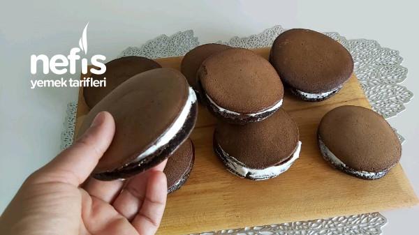 Kakaolu Süt Burger Tarifi /Çaydanlıkla Süt Burger Yapımı (Videolu)