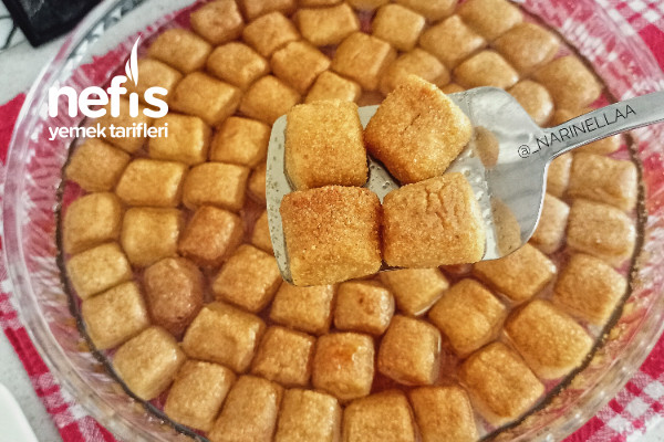 Kesme Şeker Tatlısı