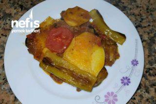 Patlıcan Ve Patatesli Oturtma Tarifi