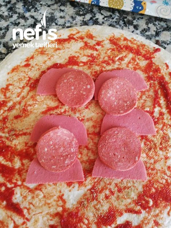 Sahur İçin Lavaş Tost (Pizza Tadında)