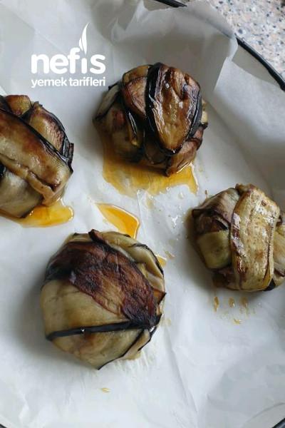 150gr Et İle Harika Sunumlu Patlıcan Yemeği