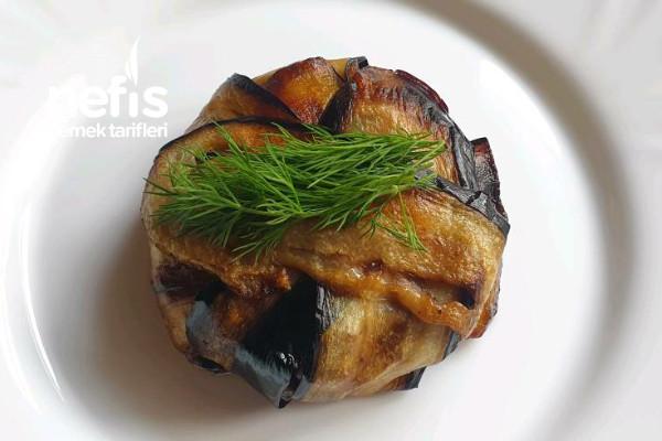 150 Gram Et İle Harika Sunumlu Patlıcan Yemeği Videolu