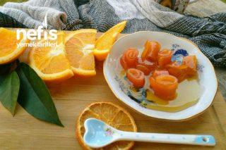 Ballı Portakal Kabuğu Reçeli Tarifi