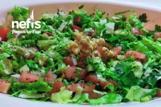 Kaşık Salatası (Cevizli) Tarifi