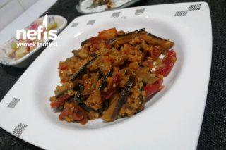 Kuru Patlıcan Yemeği (Miss Gibi Geleneksel Miss Gibi Anne, Büyükanne) Tarifi