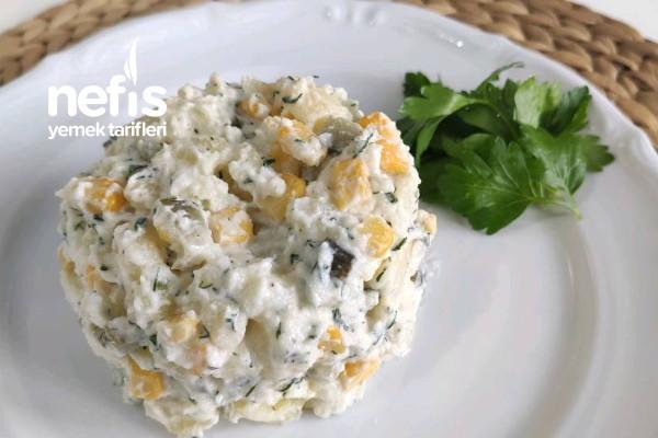 Nefis Soslu Patates Salatası (Videolu)