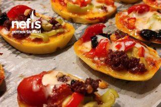 Patatesten Pizza Tarifi