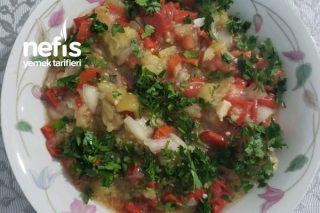 Patlıcan Salatası (Çok Kolay) Tarifi