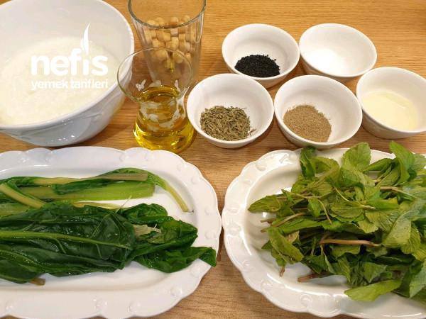 Pazılı ve Taze Naneli Cacık (Mustave Salata)