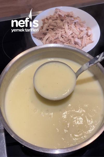 Tavuk Etli Yalancı İşkembe Çorbası