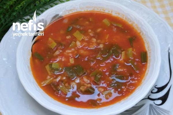 Yeling (Çiriş) Çorbası (Elazığın Yöresel Çorbası)
