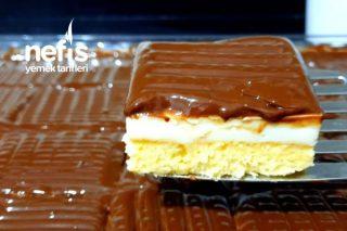20 Dakikada 30 Kişilik Çikolatalı Kolay Tatlı Tarifi (Videolu)