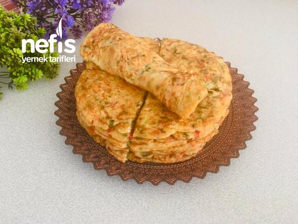 çay demlenene kadar hazır, tavada börek tarifi