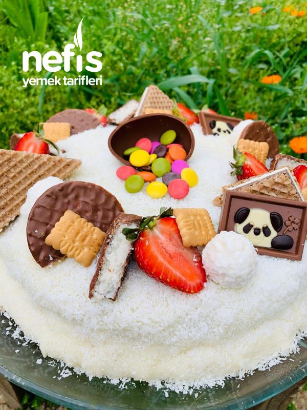 Ev Yapımı Kolay Doğum Günü Pastası