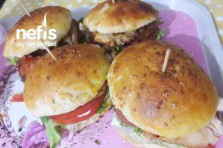 Ezberleri Bozan, Tavuk Izgara hamburger Tarifi