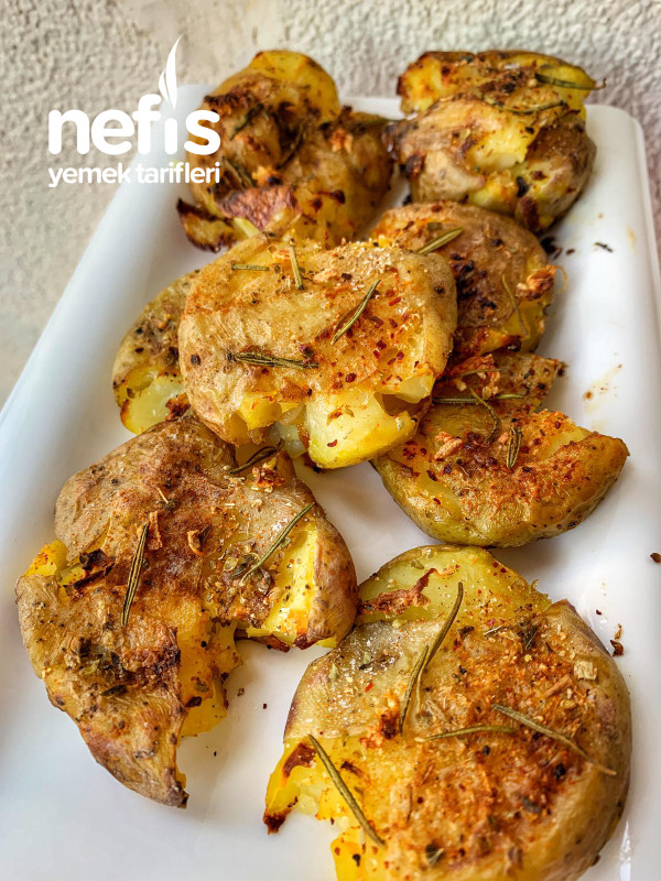 Fırında Baby Patates (Dikkat Bağımlılık Yapar:)